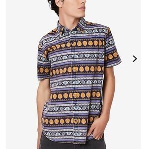Our Universe Disney Aladdin Men's Button-up Shirt